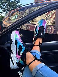 Женские кроссовки Nike M2K Tekno x Kylie Boon «Oil Spill»