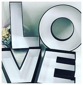"""Набор коробок букв """"Love""""  4 шт."""