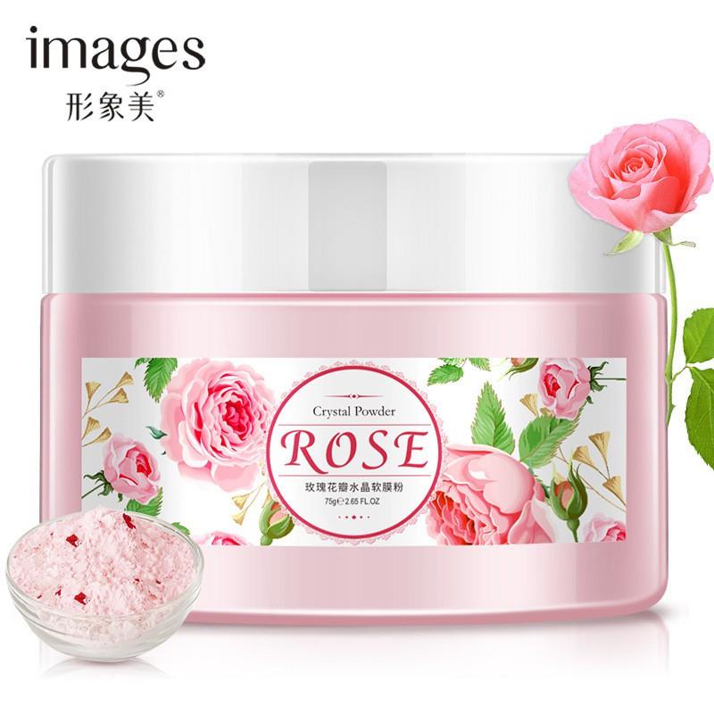 Увлажняющая альгинатная маска с розой Images Rose Cristal Powder (75г)