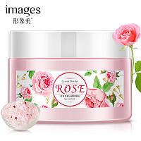 Увлажняющая альгинатная маска с розой Images Rose Cristal Powder (75г), фото 1