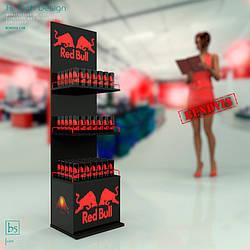Напольные рекламные стойки 🛒 Red Bull