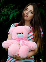 Плюшевый Мишка 50см.  Медведь игрушка Плюшевый медведь Мягкие мишки игрушки Ведмедик (Розовый)