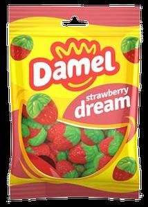 Жуйки Damel 100г strawberries полунички,, 18шт/ящ