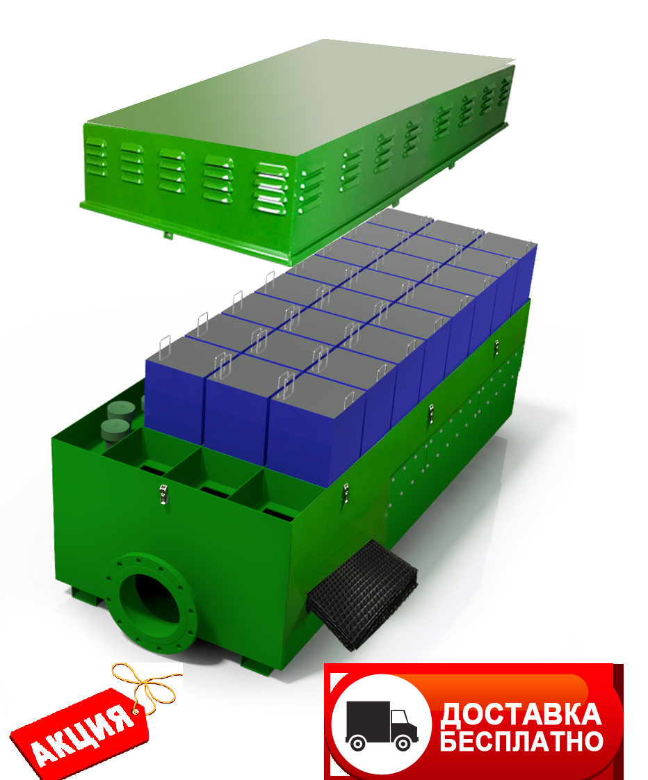 Фильтры воздушные для очистки воздуха Wager USA для водоканалов, застройщиков на обьем до 10 000м3 воздуха