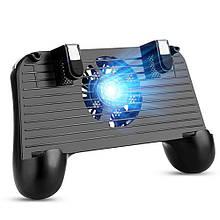 Беспроводной геймпад-триггер для смартфона Union PUBG Mobile F1 Черный (001)