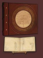 Эксклюзивный семейный фотоальбом в стиле 19 века 34х30 модель №4