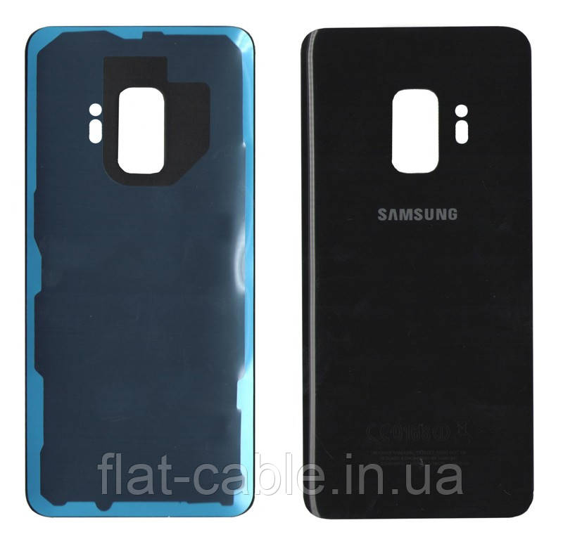 Крышка задняя Samsung G960 Galaxy S9 Черная