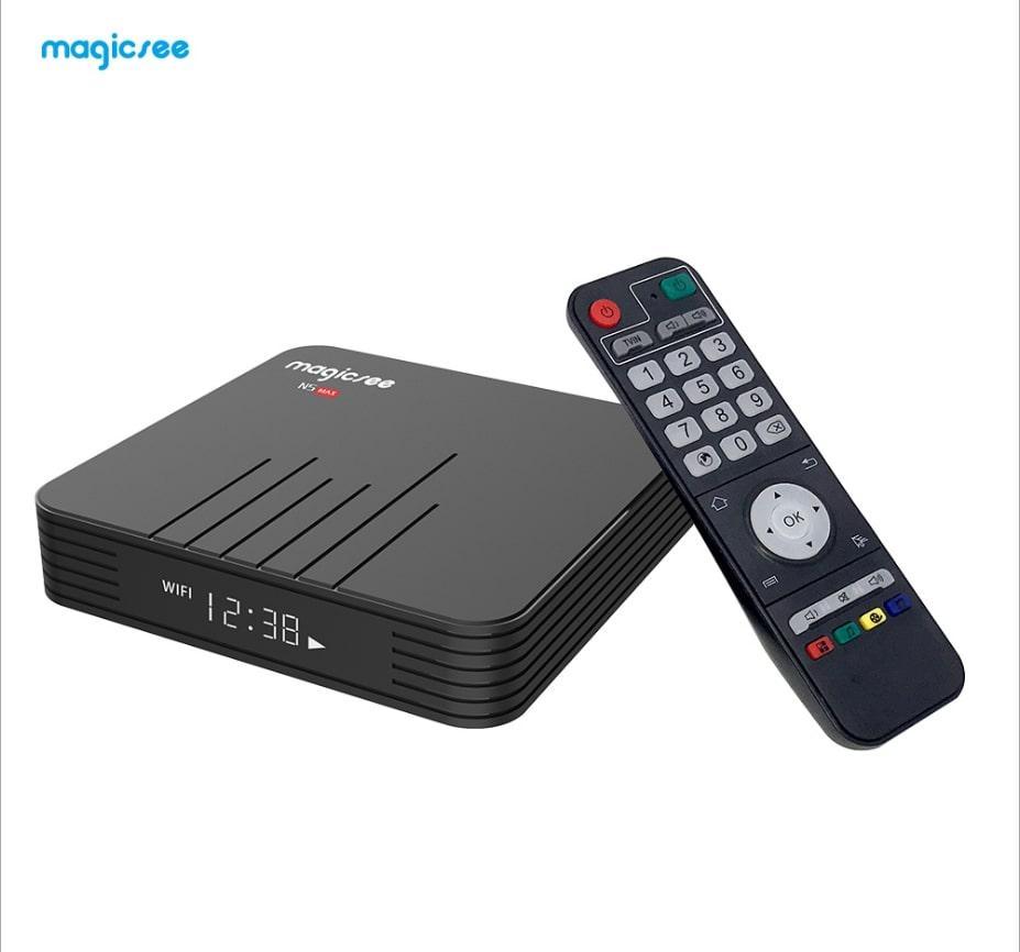 Magicsee N5 Max Смарт ТВ приставка