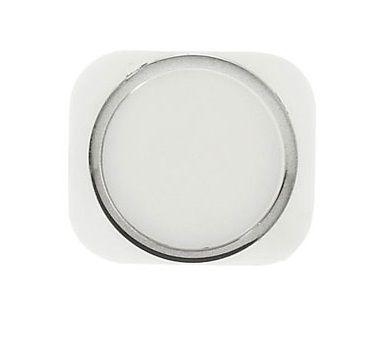 Кнопка Apple iPhone 5 возврата в главное меню (кнопка Home) Style iPhone 5S White