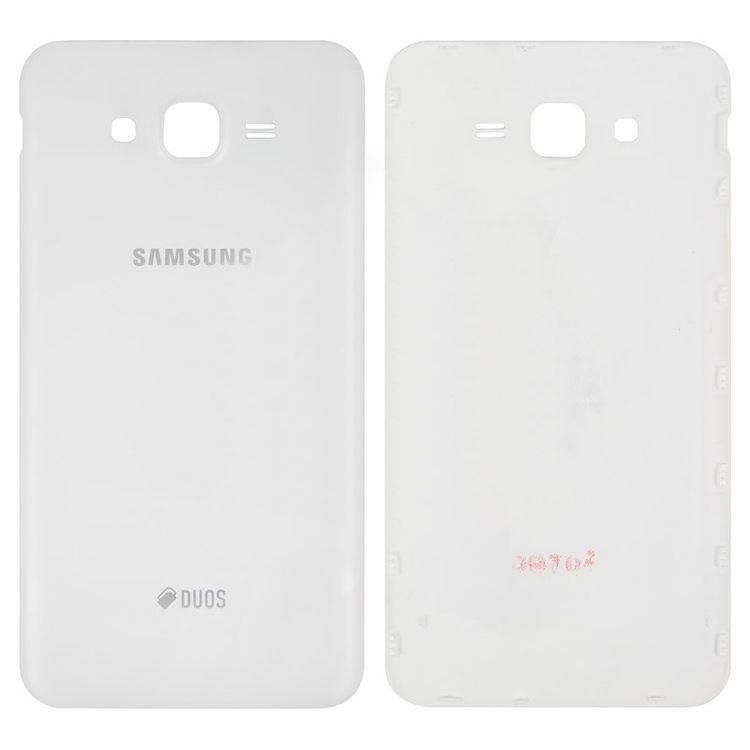 Задняя крышка корпуса Samsung J700H Galaxy J7 (2015) Original White