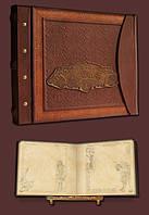 Эксклюзивный семейный фотоальбом в стиле 19 века 34х30 модель №3