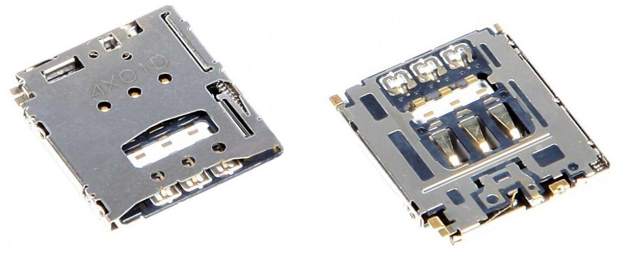Разъем SIM-карты Lenovo B8000 Yoga Tablet 10