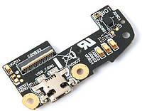 Шлейф Asus ZenFone 2 (ZE550ML / ZE551ML) нижняя плата с разъемом зарядки и микрофоном Original
