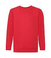 Детский свитер премиум утепленный красный 031-40