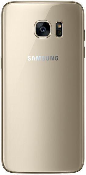 Задняя крышка корпуса Samsung G935F Galaxy S7 Edge Original Gold