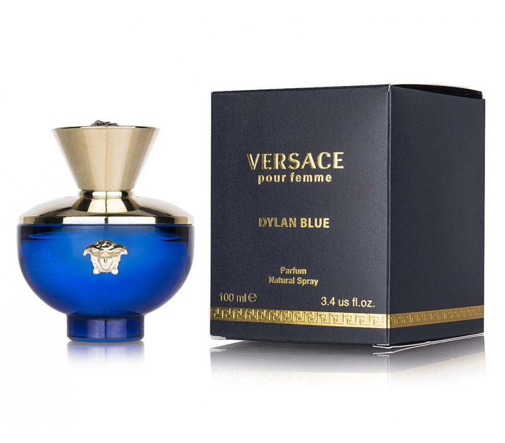 Тестер женский Versace Pour Femme Dylan Blue, 100 мл