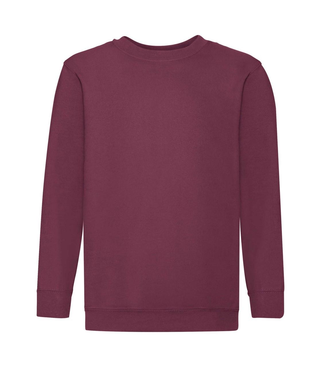 Детский свитер премиум утепленный бордовый 031-41