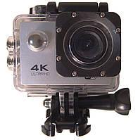 Экшн-камера водонепроницаемая спортивная DVR SPORT S2 Wi Fi, серая