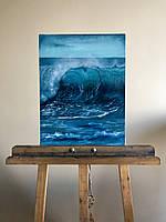 """Картина маслом на холсте """"Близость моря"""""""