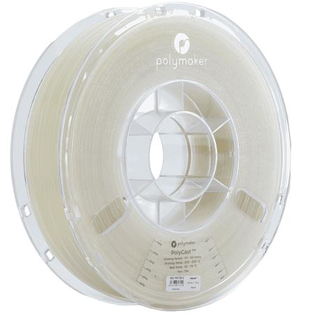 Випалювальний пластик в котушці PolyCast Polymaker,1,75 мм, 0.75 кг, фото 2