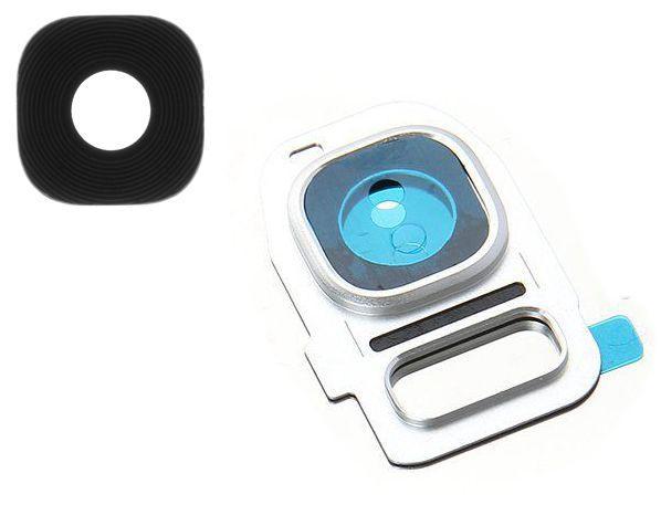Стекло камеры Samsung G930F Galaxy S7 / G935F Galaxy S7 Edge White