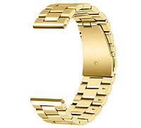 Металлический ремешок для часов Huawei Watch GT / GT Active 46mm - Gold, фото 1