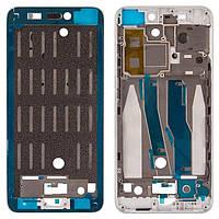 Передняя панель корпуса (рамка дисплея) Xiaomi Mi5 Silver