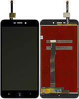 Дисплей (экран) для телефона Xiaomi Redmi 4A + Touchscreen Original Black