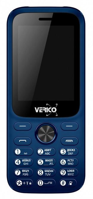 Мобільний телефон Verico Carbon M242 Blue Гарантія 12 місяців