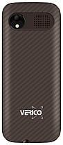 Мобільний телефон Verico Carbon M242 Brown Гарантія 12 місяців, фото 2