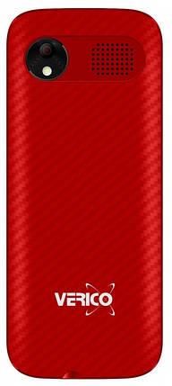 Мобільний телефон Verico Carbon M242 Red Гарантія 12 місяців, фото 2