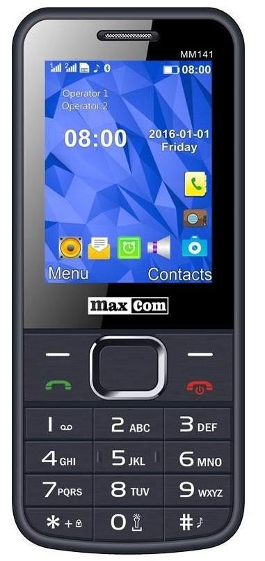 Мобільний телефон Maxcom MM141 Gray Гарантія 12 місяців