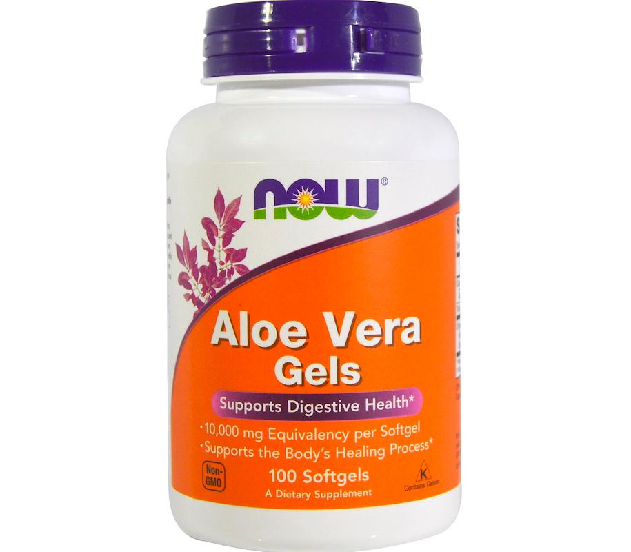 Комплекс для улучшения работы иммунной системы NOW Aloe Vera Gels 5000 mg (100 капс)