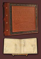 Эксклюзивный семейный фотоальбом в стиле 19 века 34х30 модель №2