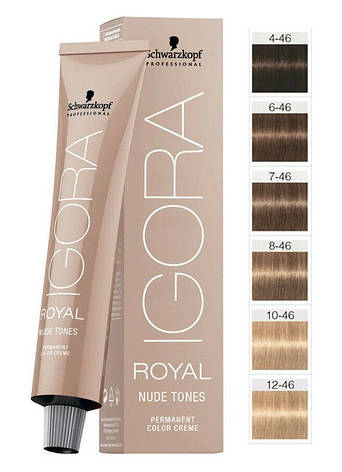 Краска для волос Schwarzkopf Igora Royal Nudes 60 мл, фото 2