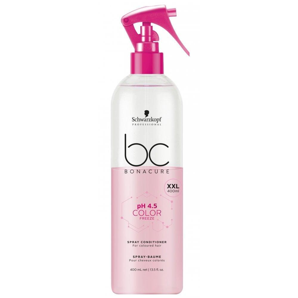 Спрей-кондиционер для окрашенных волос SCHWARZKOPF BC Color Freeze Spray Conditioner 400 мл