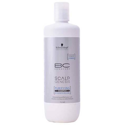 Шампунь для глубокого очищения SCHWARZKOPF BC Scalp Genesis Purifying Shampoo 1000 мл, фото 2