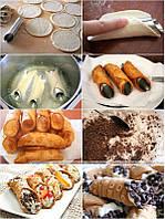 Формы для выпечки трубочек, круассанов и канноли (6 шт.)