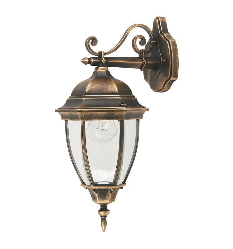 Парковый светильник QMT 1277S Dallas II, стар/золото