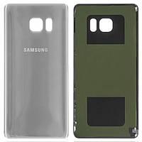 Задняя крышка корпуса Samsung N930F Galaxy Note 7 Silver