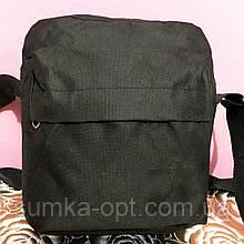 Спортивные барсетки Nike текстиль (черный)20*24см