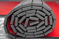 Спортивные РОЛЛ- маты для единоборств, толщина 30 мм , красные