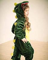 Детский костюм кигуруми зеленый дракон kig0040, фото 1