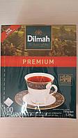 Чай Чорний пакетований б/я  Dilmah 100 пак