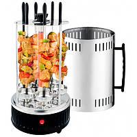 Электрошашлычница шашлычница Domotec BBQ на 6 шампуров 1000W (РК-45605)