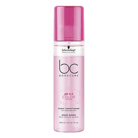 Спрей-кондиционер для окрашенных волос SCHWARZKOPF BC Color Freeze Spray Conditioner 200 мл, фото 2