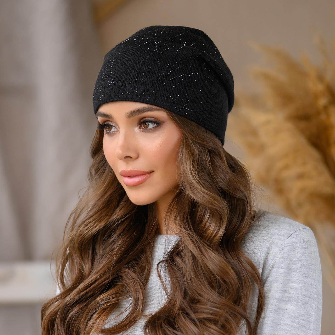 """Женская шапка LaVisio """"Дина"""" 645-002 Черный"""