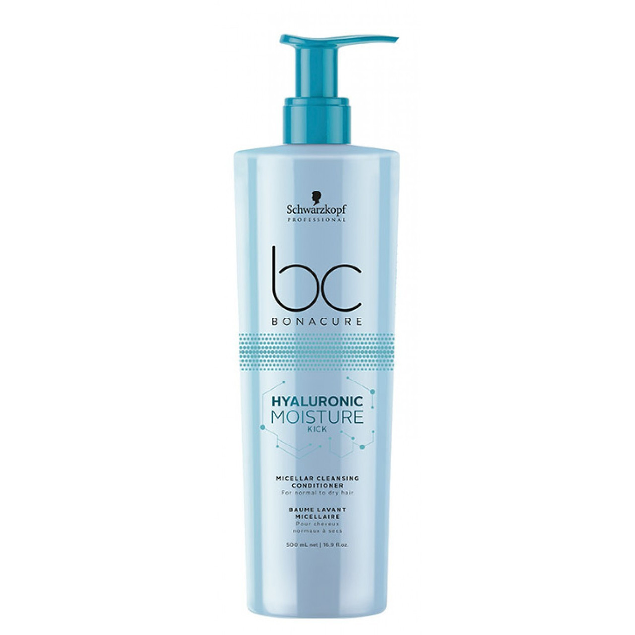Увлажняющий кондиционер SCHWARZKOPF BC Hyaluronic Moisture Kick Conditioner 500 мл