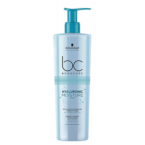 Увлажняющий кондиционер SCHWARZKOPF BC Hyaluronic Moisture Kick Conditioner 500 мл, фото 2