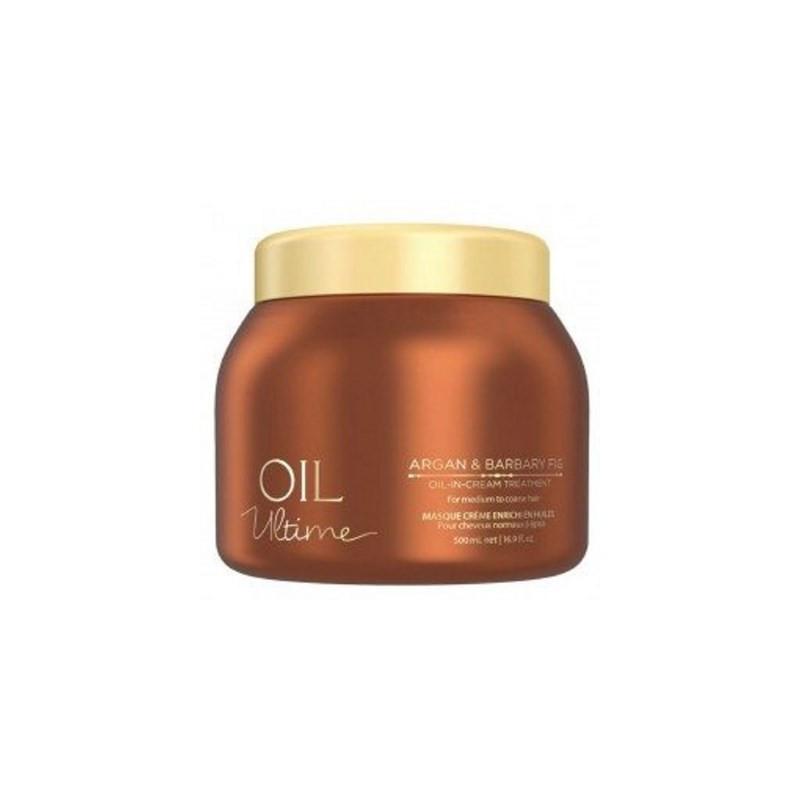 Маска для нормальных и жёстких волос с маслом арганы SCHWARZKOPF Oil Ultime Argan&Barbary Fig Oil-in 500 мл